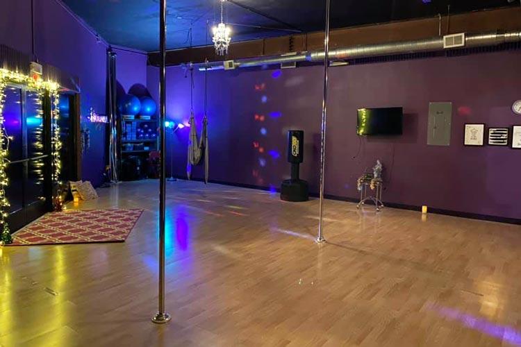 Pole Fitness Practice Room Rental